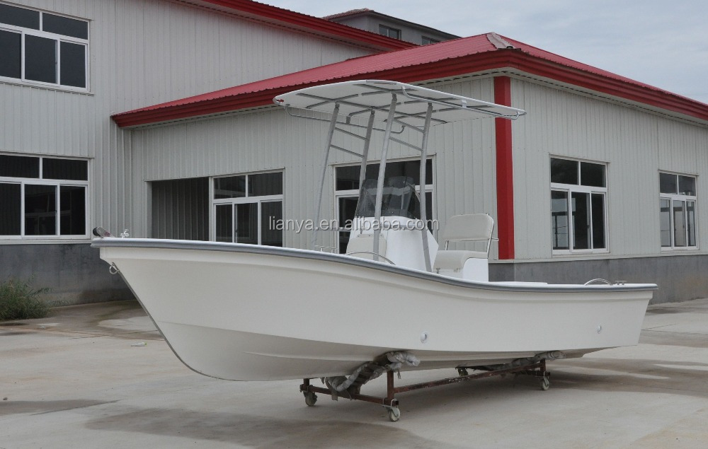 Liya longline fishing vessel chinese boat manufacturers 19ft frp hull with motor