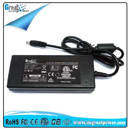 Desktop power supplu 12v 4.2a ac adapter with FCC CE GS ETL PSE approved
