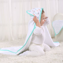 LAT fashion children cartoon bath towel stock home textile embroidery square towel