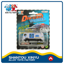 Shop promotion police model vehicles mini plastic truck toy for sale