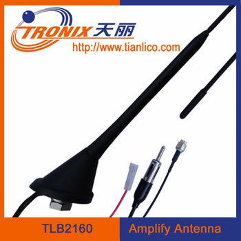 Car radio DAB AM FM aerial Roof mounted antenna TLB2160