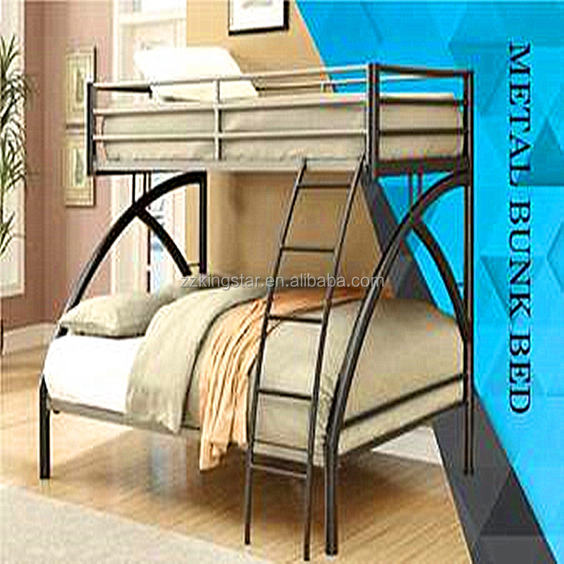 Fashion style metal bed Twin Full size Metal Bunk beds