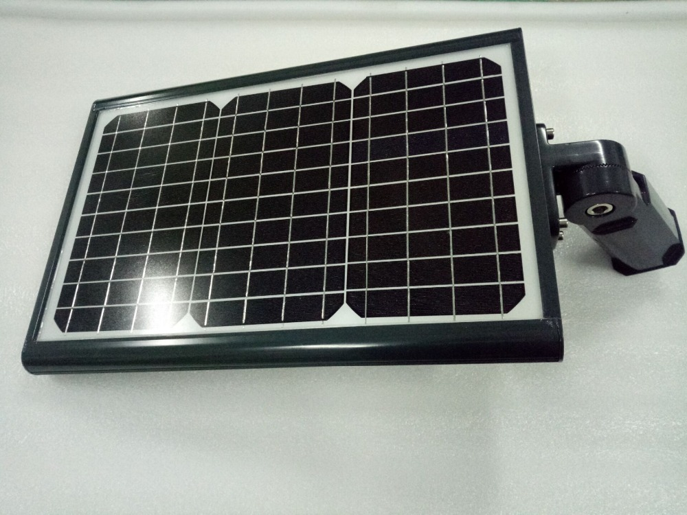 Low power 12w solar powered street lights for Garden lighting