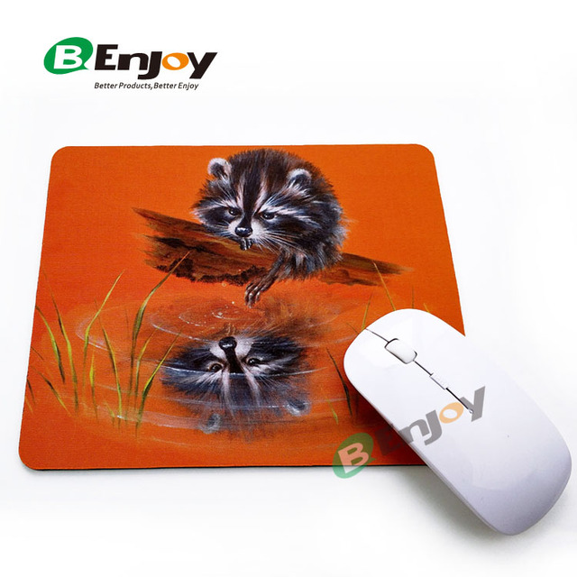 Factory wholesale high quality custom print rubber mouse pad