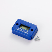 Digital LCD Motorcycle Racing Wireless Vibration Hour Meter for diesel engine,gasoline engine and so on