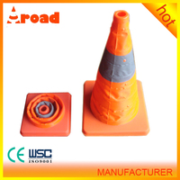 Traffic Safety Facilities collapsible led light traffic Cone