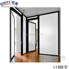 Aluminum French Exterior Commercial Aluminum Double Steel Entry Door