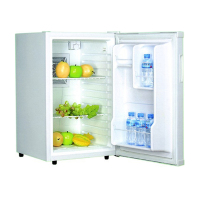 65 L small home and hotel table top mini bar refrigerator minibar bottle cooler,chiller & fridge for beer, beverage & cold drink