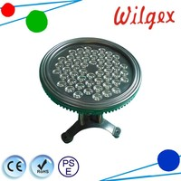 54W RGB uv underwater led lamp for swimming pool