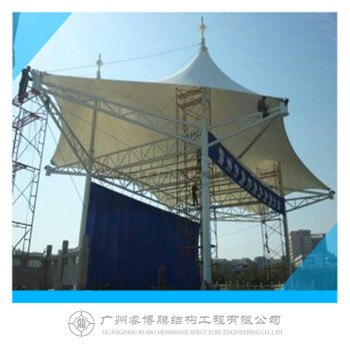 2018 Guangzhou square membrane structure with high quality