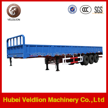 Three Axles 35Tons Cargo Semi-trailer for sale