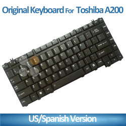 SP/US for toshiba laptop keyboard notebook keyboard A200 A205 A210 A215 A300 A305 M200 M205 M300 L300 L305 L315 SP version