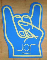 promotional gift,foam hand for sports