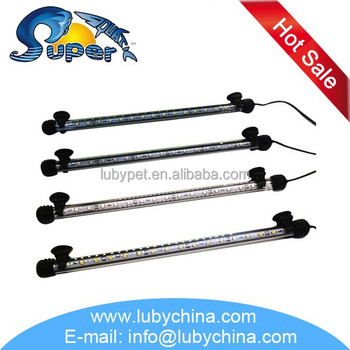 Super aquatic single line led aquarium light for aquarium fish, with high quality