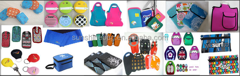 2014 Hot selling neoprene camera bag with customized logo