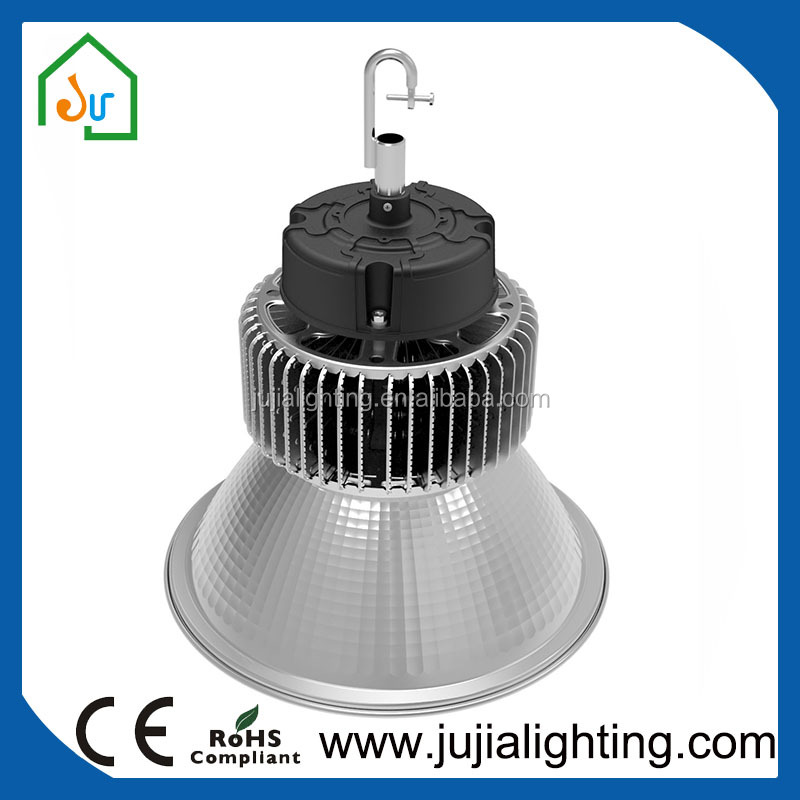 PC lens highbay led 200w high bay light with Die-cast aluminum heat sink