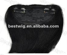 Wholesale Fashion Clip In Bang Fringe Human Hair Extension Products