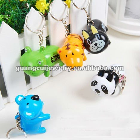 fashion small pen key chain functional keychain animal festival gift unique souvenirs