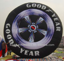inflatable replica tire,inflatable AD product,inflatable display product