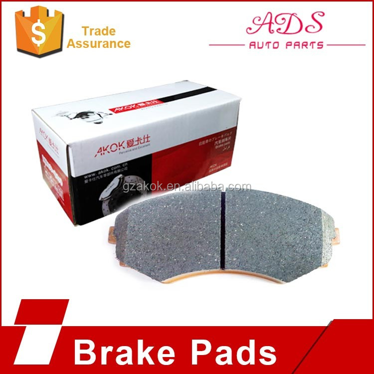 0446602260 High Quality Auto Engine Parts CBK Rear Brake Pads Back Plate for Toyota Corolla