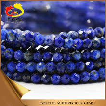 Natural Loose Lapis lazuli Wholesale Rough Faceted Stone Beads for Decoration