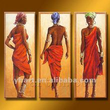 Hot Sell Handmade Indian Oil Paintings