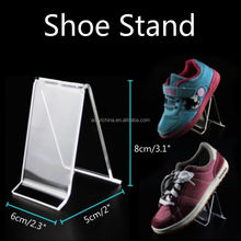 2018 New Arrive Acrylic Shine Shoe display Stand for sale