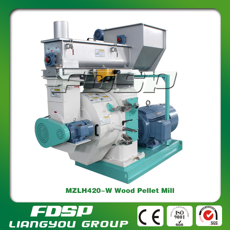 High quality different capacity rice hull pellet mill