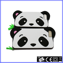 Cute Panda silicone phone case for iphone 7
