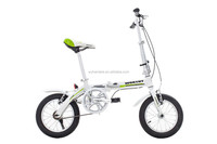 "14"" Wheel Size mini kid pocket bike factory direct price sports folding bike"