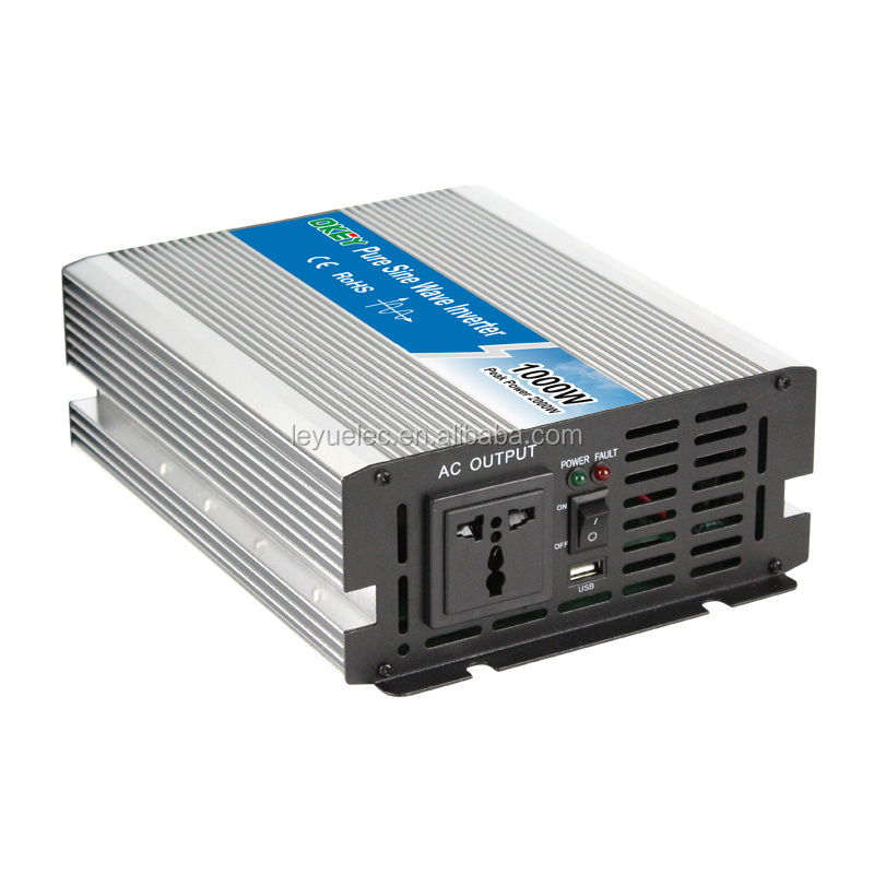 <strong>1000W</strong> pure <strong>sine</strong> <strong>wave</strong> power inverter DC power solar home application