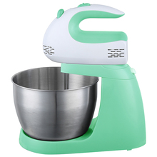 Popular Kitchen Electric Egg Beater Food Hand Mixer With Bowl