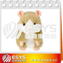 Pet talking Hamster Recording electronic fluffy hamster toys