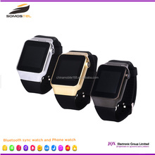 [Somostel]2016 Multi Function wireless Sync Smart Watch Camera Single Sim For Samsung For Android Phone