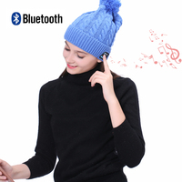 Wireless Bluetooth 4 1 Knitted Winter