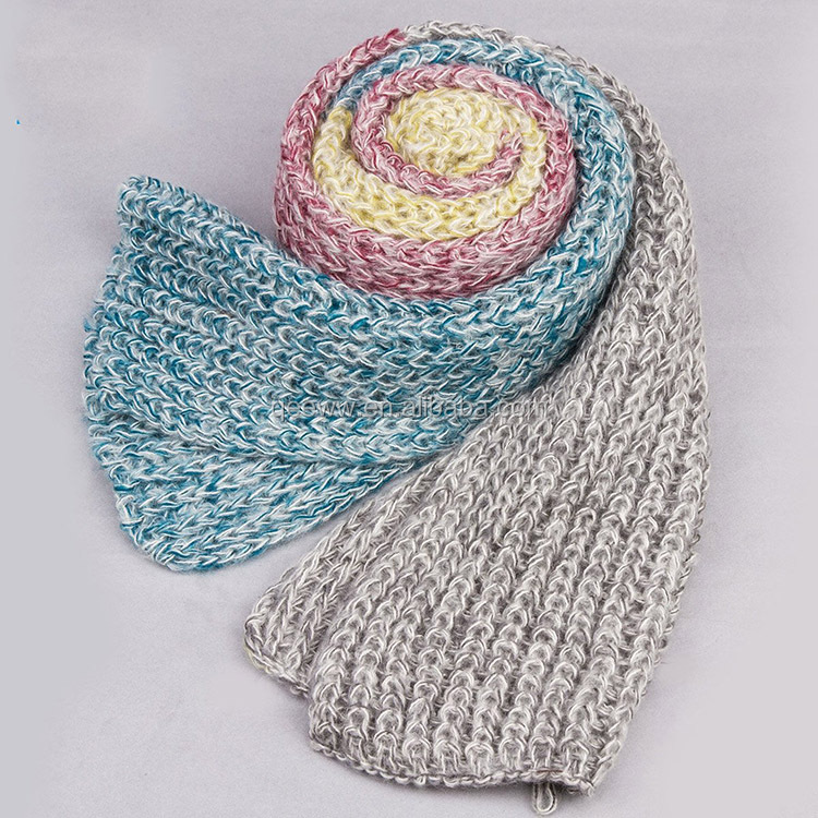 Fashion Long Knitting Mohair Scarf And Shawl In Winter - Buy Ladies Scarf,Lon...