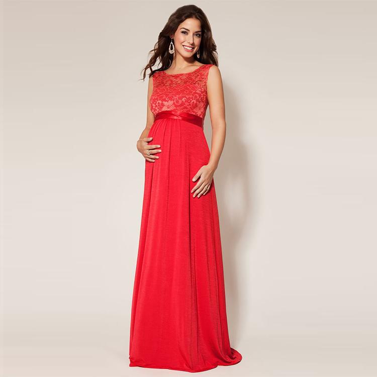 Elegant Pregnant Women Maternity Long Prom Dresses - Buy Maternity ...