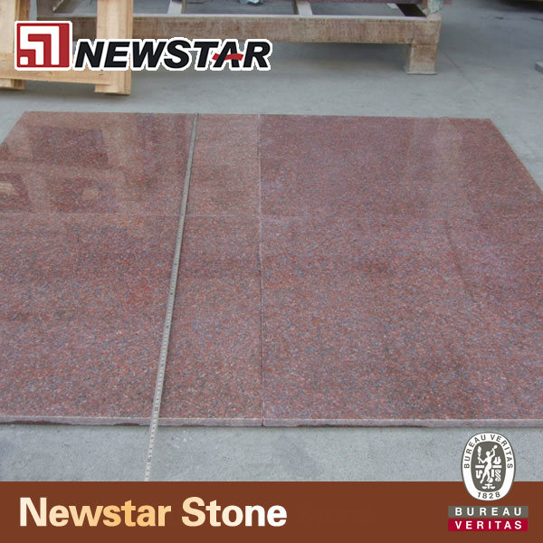 India multicolor red 18 x 26 granite tile for kitchen floor