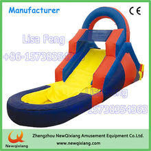 China supply residential inflatable water slides for home use