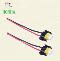 2 Pin Female Socket H11 H8 LED headlight / Fog lights Wiring harness