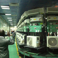 100 NEW Air Conditioner Assembly Line