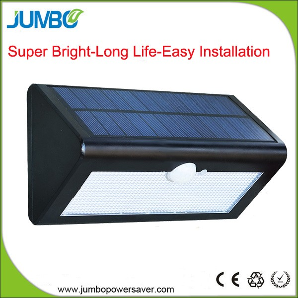 38 LED Waterproof Solar Power Wall Lamps Wireless Outdoor PIR Motion Sensor Solar Security LED Light