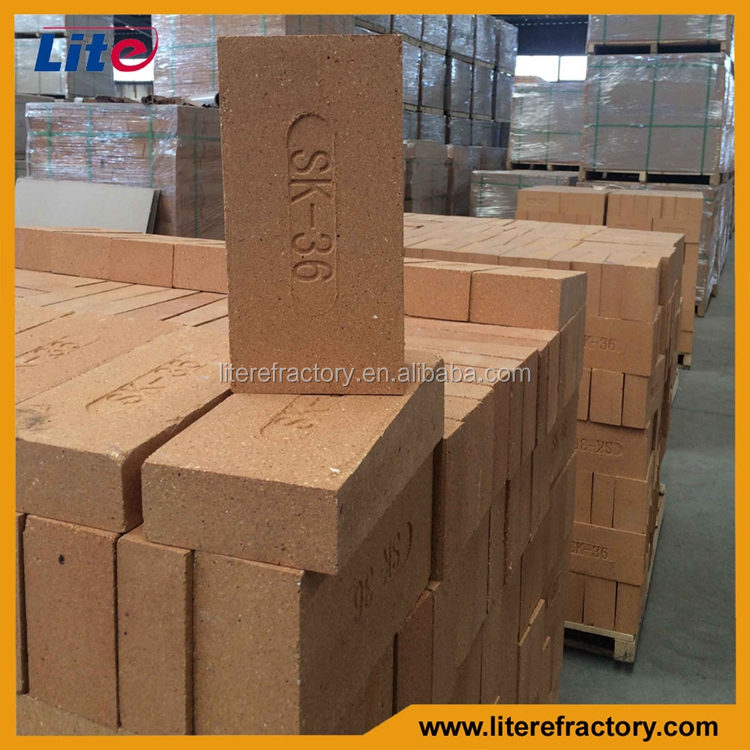 standard size refractory brick dimensions for annealing furnace/chimney