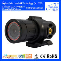 H.264 Ultra small size waterproof car car video recorder camera with waterproof car black box