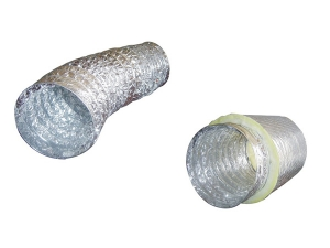 aluminum flexible duct HVAC insulation flexible duct connector iin sprial flexible duct hose