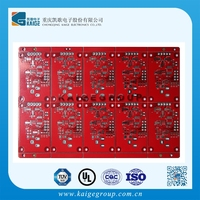 2 layer HASL finish led colorful lighting used printed circuit board