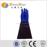 SunnyHope Slip resistant pvc coated waterproof oil resistant fishing glove