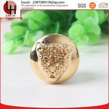 new style Leopard head metal uv button for men's coats and suits