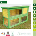 Quality Assured Custom double decker rabbit hutch wooden pet house