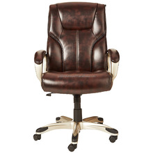 Luxury Comfortable Genuine Leather High Back Office Chair Boss Manager Chair